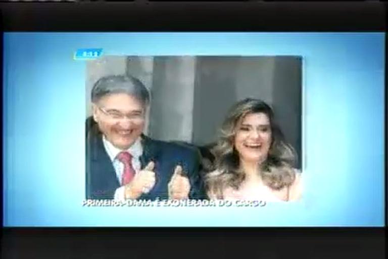 Primeira-dama Carolina Oliveira é exonerada de cargo público ...