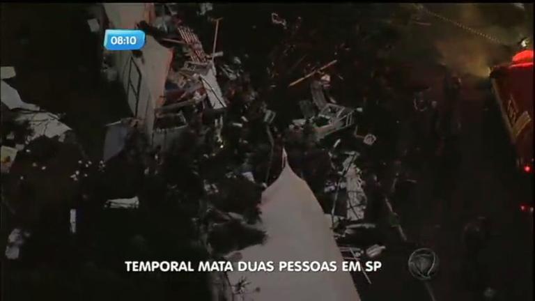 Árvore cai, derruba barracas e mata jovem no Brás - Notícias - R7 ...