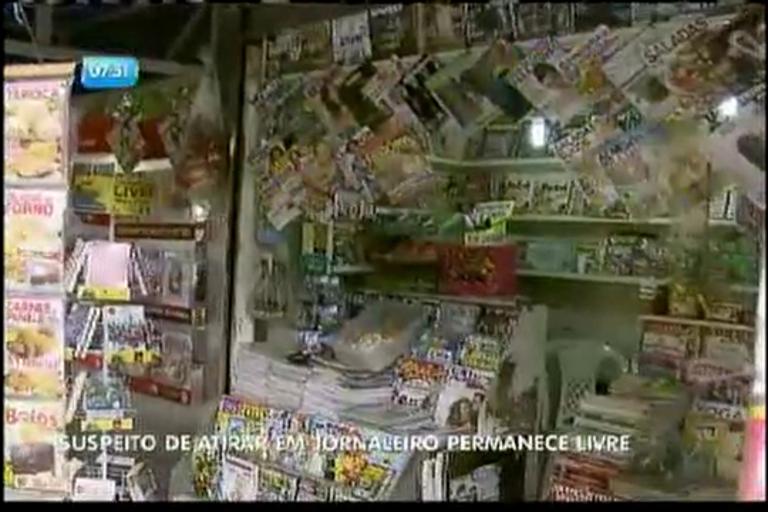 Suspeito de atirar em jornaleiro permanece livre - Bahia - R7 Bahia ...