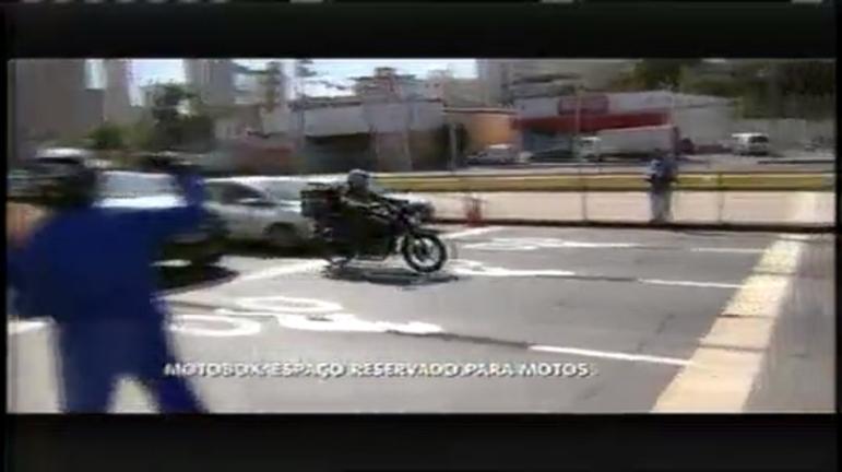 Espaço exclusivo para motos foi inaugurado na Cristiano Machado ...