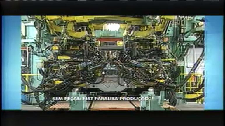 Fiat paralisa produção por falta de peças para montagem - Minas ...