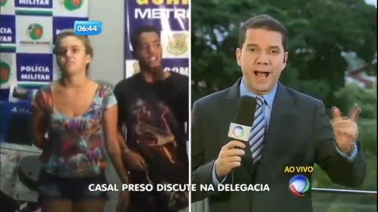 Ao ser preso, casal discute dentro de delegacia em Goiás - Notícias ...