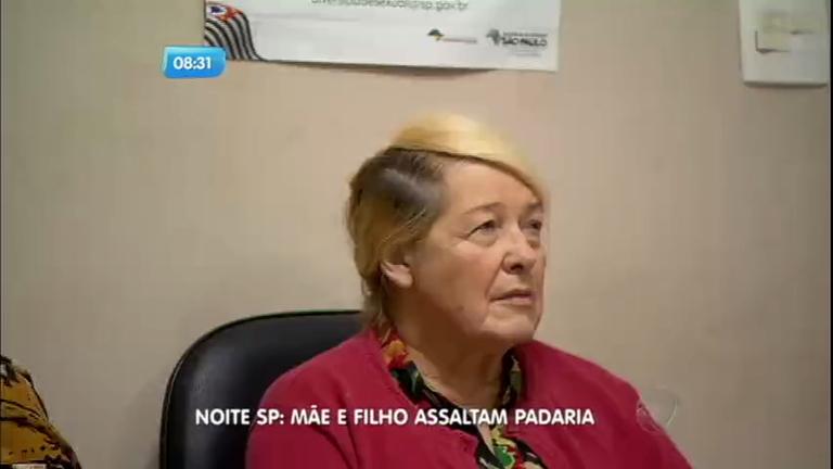 Idosa ajuda filho a assaltar padaria na Grande São Paulo - Notícias ...