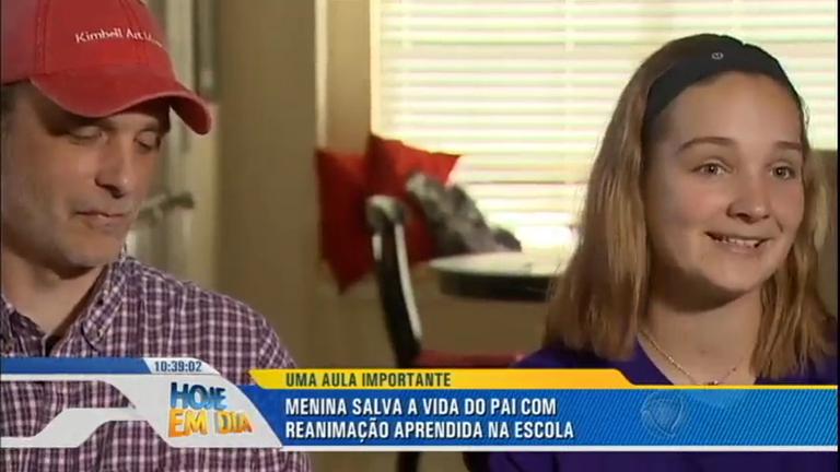 Garota de 12 anos salva a vida do pai com manobras de ...
