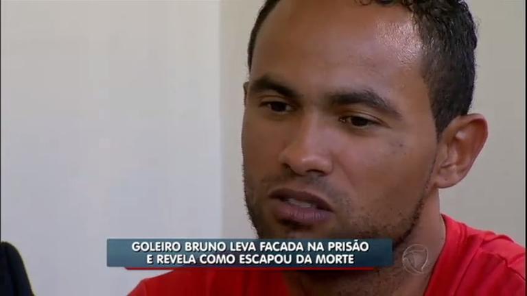 Goleiro Bruno leva facada durante banho de sol em presídio ...