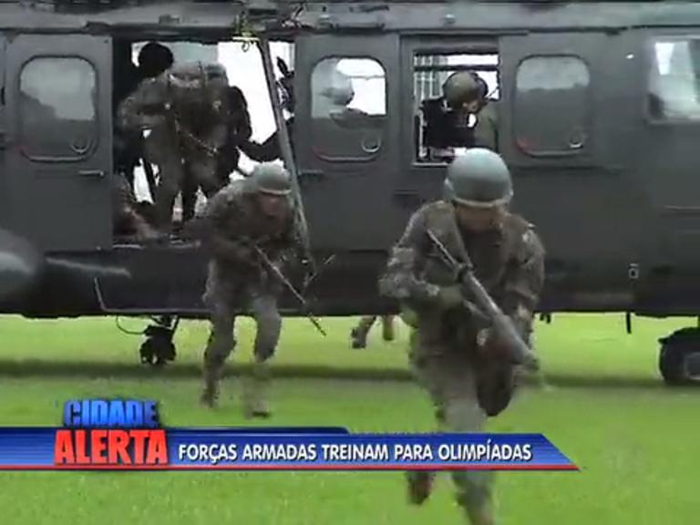 Forças Armadas treinam no Colégio Militar da Tijuca para trabalho ...