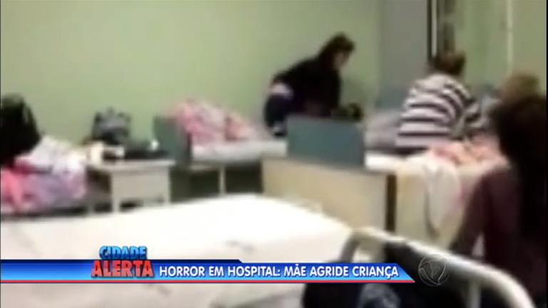 Flagrante de crueldade: mãe agride filho de quatro anos dentro de ...
