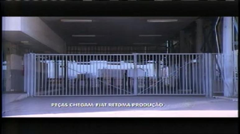 Fiat promete retomar produção após chegada de peças - Minas ...