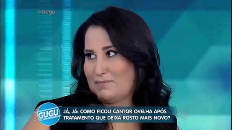 Fabíola Gadelha experimenta 'chip da beleza' e fala sobre a técnica ...