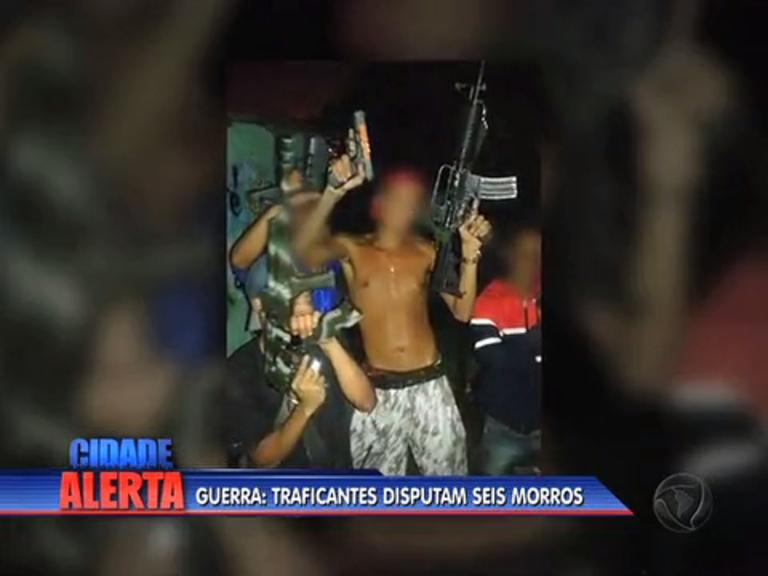 Disputa por pontos de tráfico acirra violência entre grupos rivais ...