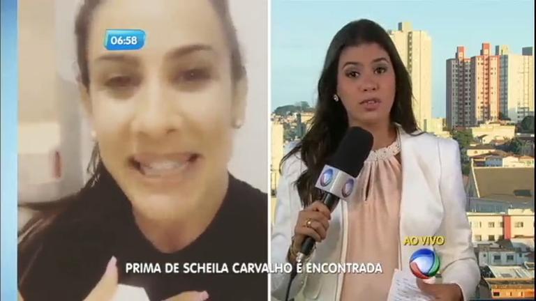 Prima de Scheila Carvalho é encontrada - Notícias - R7 Balanço ...