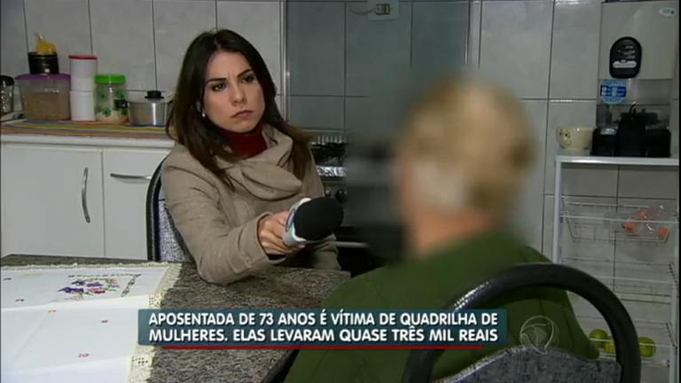 Idosa é vítima de quadrilha de mulheres que pratica sequestro ...
