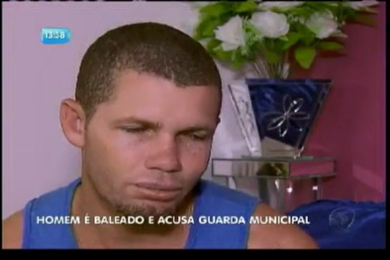 Homem é baleado e acusa guarda municipal - Bahia - R7 Balanço ...