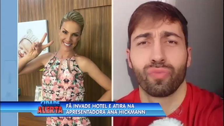 Homem armado invade hotel e tenta matar apresentadora Ana ...