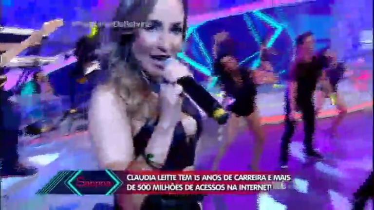 Claudia Leitte 'Extravasa' e coloca a plateia para dançar no ...