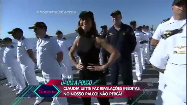 Sabrina invade navio da Marinha brasileira e prepara surpresa para ...