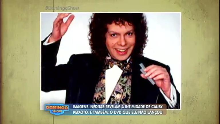 Exclusivo: Domingo Show faz homenagem a Cauby Peixoto e ...