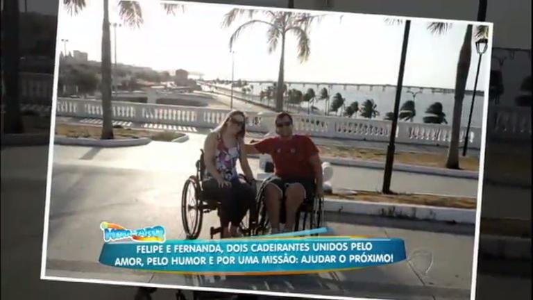 História de amor e superação: casal de cadeirantes une forças para ...