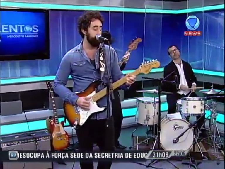 JR News Talentos recebe Filippe Dias