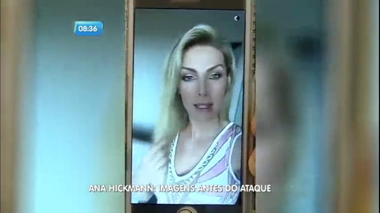 Ana Hickmann grava vídeo antes da chegada de atirador em hotel - RecordTV -  R7 SP no Ar 80038ebeaa