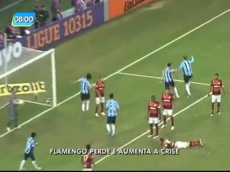 Flamengo perde para Grêmio e vai para 12º lugar no Campeonato ...
