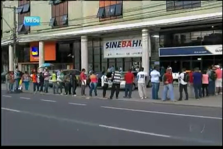 Bahia tem maior taxa de desemprego do país