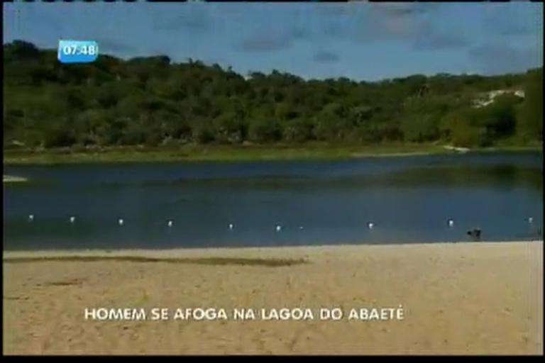 Homem se afoga na Lagoa do Abaeté