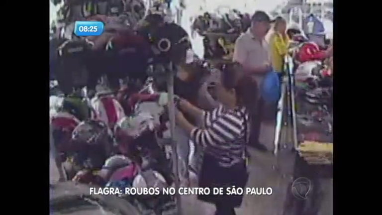 Câmeras flagram furtos em lojas no centro de São Paulo - Notícias ...