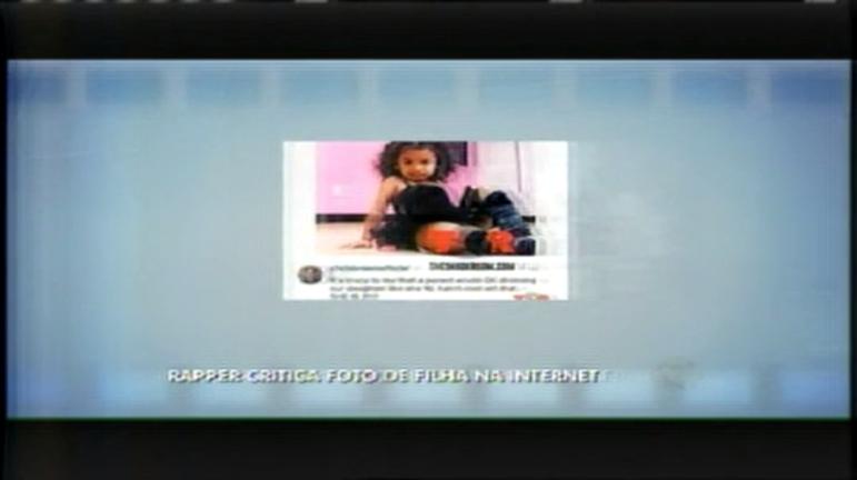 Hora da Venenosa: Rapper critica foto da filha na internet