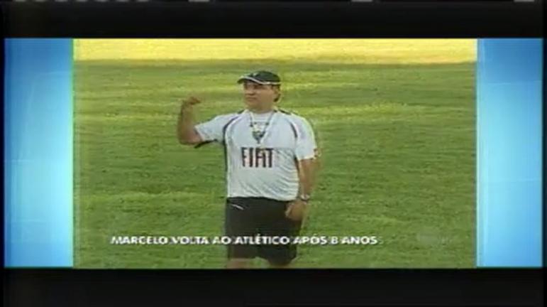 Marcelo Oliveira fala pela primeira vez depois de assumir o Galo