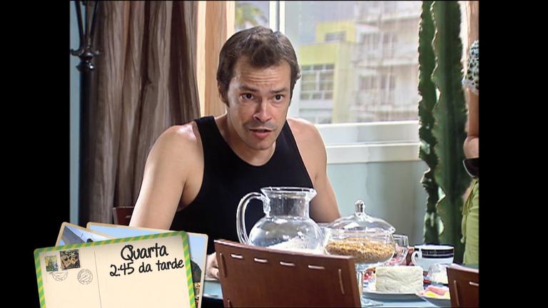 Petrônio encontra outro homem na casa de Valquíria em Amor e Intrigas desta quarta (25)