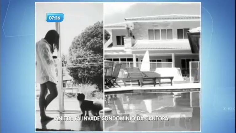 Fã invade casa de Anitta no Rio de Janeiro - Notícias - R7 Balanço ...