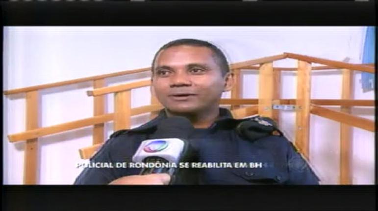 Faça Parte: Policial de Rondônia se reabilita em BH e volta à ativa