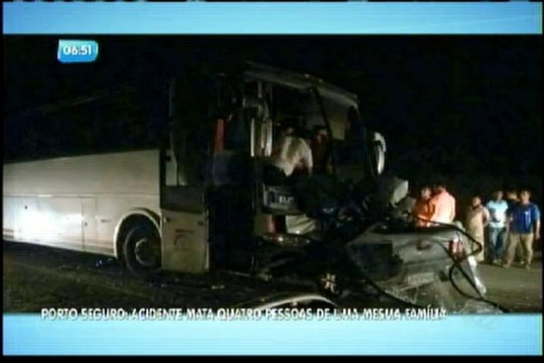 Acidente mata 4 pessoas da mesma família no interior da Bahia ...