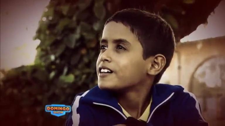 Domingo Show encontra garoto conhecido como 'menino calculadora'