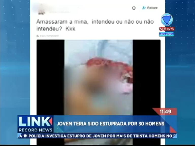Polícia investiga vídeo na internet que mostra jovem estuprada por ...
