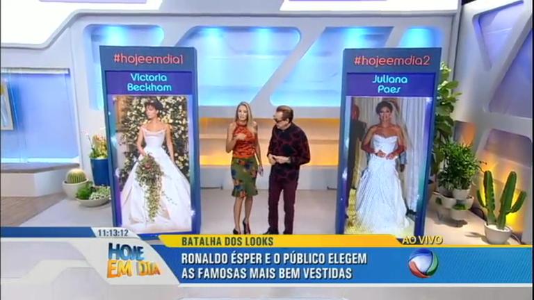 Batalha dos Looks: Ronaldo Ésper analisa os vestidos de noivas das celebridades