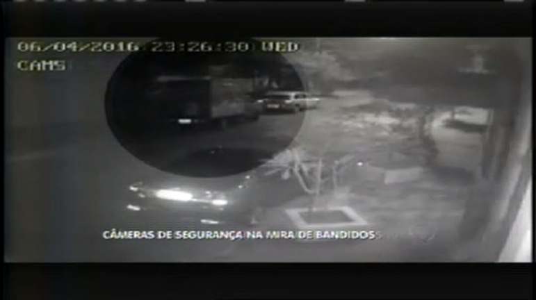 Bandidos miram câmeras de segurança nos furtos da região centro-sul de BH