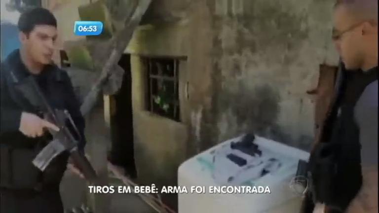 Polícia encontra arma usada para matar bebê em São Gonçalo (RJ)