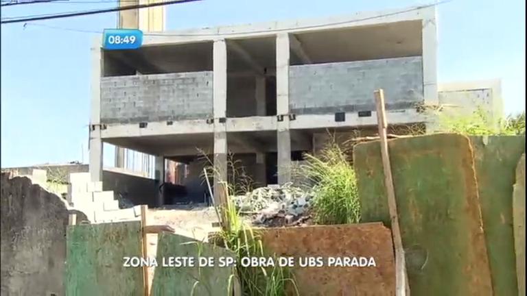 Reportagem do Dia: construção de UBS é interrompida por falta de repasse de dinheiro pela Prefeitura