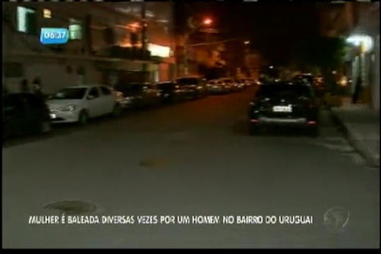 Mulher é baleada em Salvador