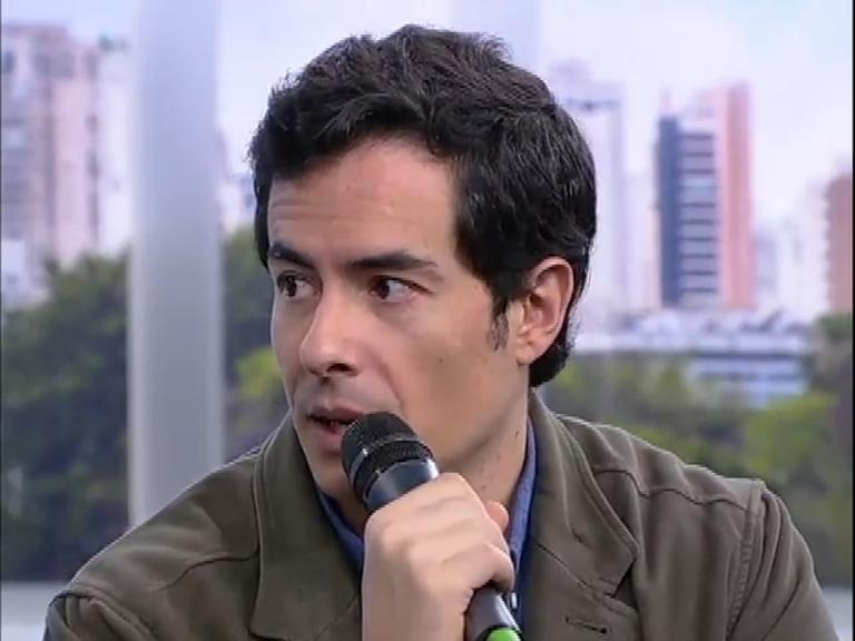 Balanço Geral Online: ator Felipe Folgosi fala do seu trabalho como ...
