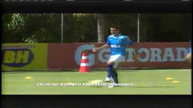 Esporte: Robinho pode estrear no Cruzeiro neste sábado - Minas ...