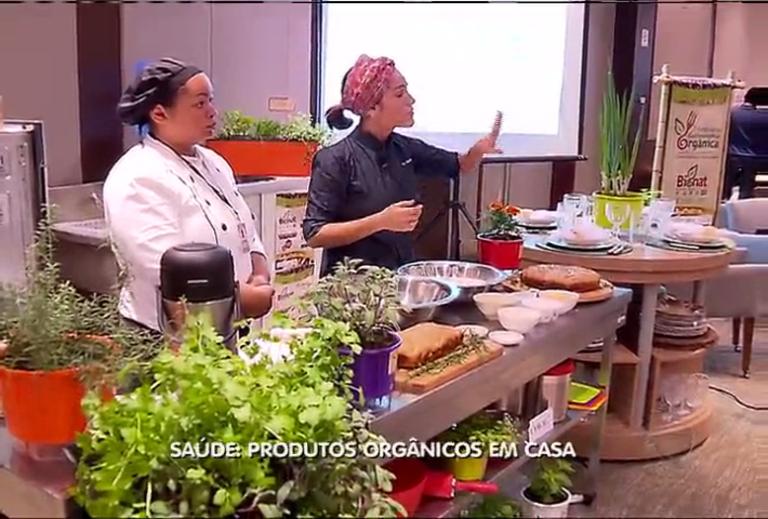 Saúde: produtos orgânicos em casa