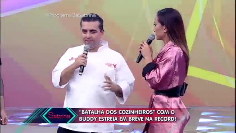Buddy Valastro fala sobre a estreia da 'Batalha dos Cozinheiros'