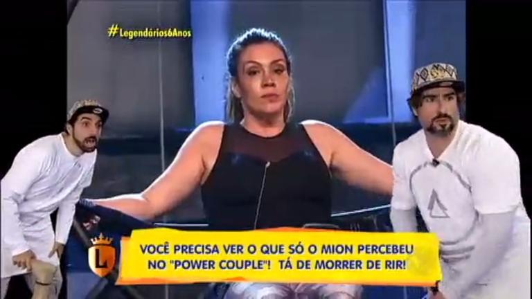 Mion analisa todos os detalhes do Power Couple Brasil no Vale a Pena Ver Direito