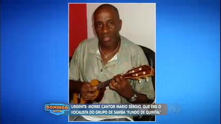 Vocalista do Fundo de Quintal morre aos 58 anos no Rio de Janeiro