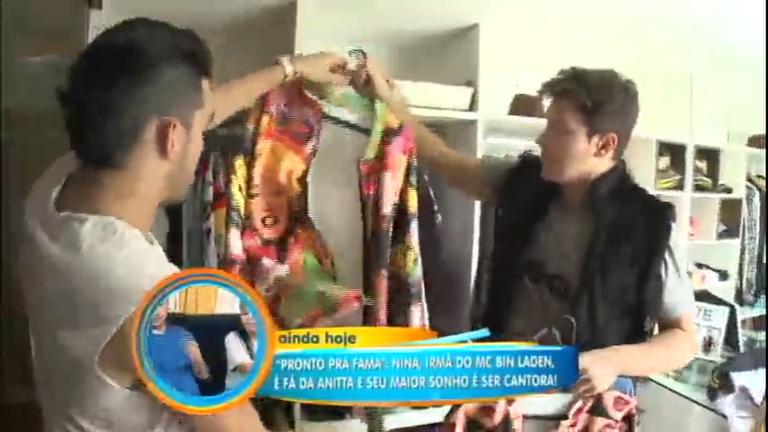 Faro mostra tudo do guarda roupa do cantor Gabriel Diniz