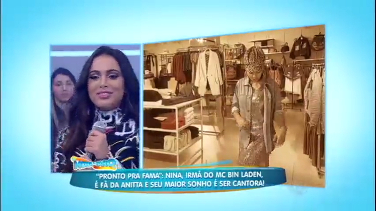 Anitta ajuda irmã de MC Bin Laden a virar cantora