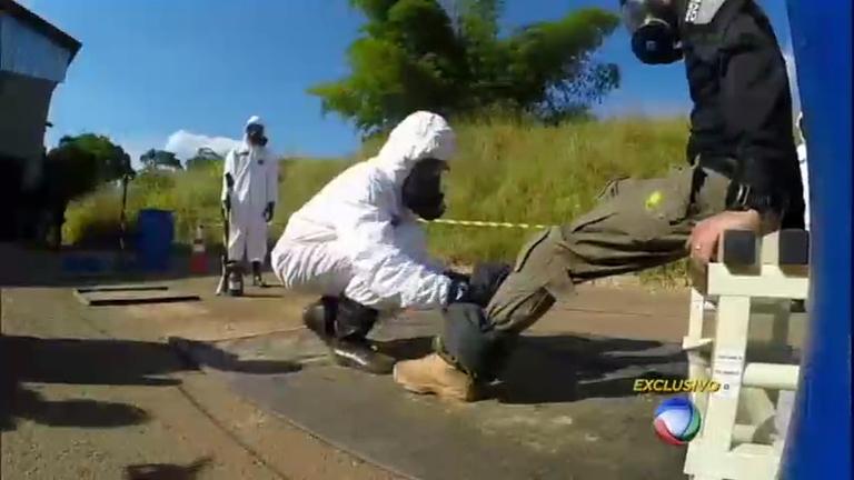 Sob ameaça terrorista, equipes das Forças Especiais treinam contra possíveis ataques nas Olimpíadas